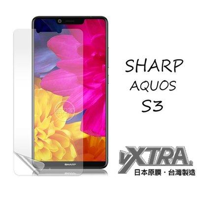 威力家 VXTRA 夏普 SHARP AQUOS S3 高透光亮面耐磨保護貼(非滿版軟膜) 亮面貼 亮膜 螢幕貼 台中市