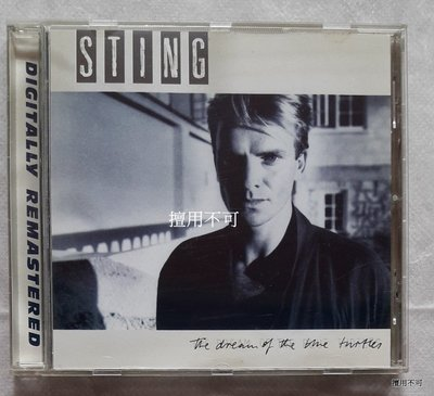 Sting 史汀 The dream of the blue turtles 數位復刻版專輯