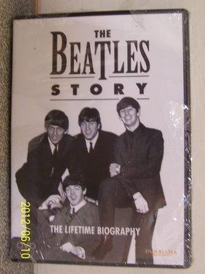 【DVD】852.披頭四(Beatles)的故事,全新未拆封