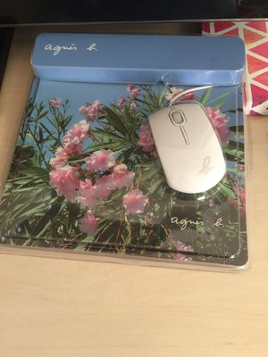 Agnes b mouse n flower pad