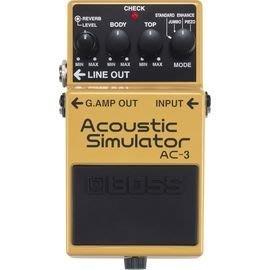 ♪♪學友樂器音響♪♪ BOSS AC-3木吉他模擬效果器