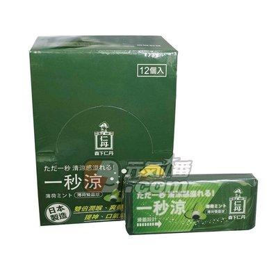 【元氣一番.com】日本森下仁丹〈一秒涼口含晶球50粒/盒〉◎魔酷雙晶球-勁涼薄荷 ◎