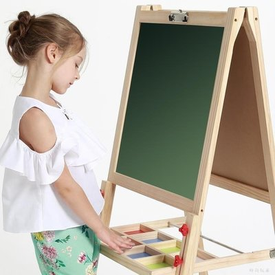 YEAHSHOP 小黑板支架式家用兒童畫板女孩迷Y185