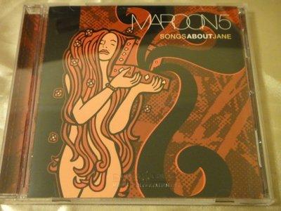 Maroon 5 魔力紅 Songs about Jane 2CD 特別版