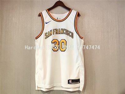 史蒂芬·柯瑞(Stephen Curry) NBA金州勇士隊 球衣 30號 球員版 白色