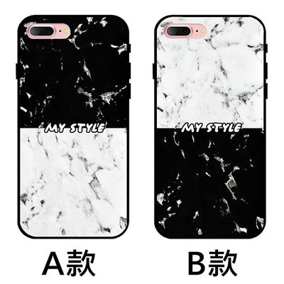 K&M黑白紋路情侶 黑軟殼 手機殼 iphone X XR XS MAX iphone8 iphone7 iphone6