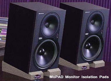 ☆ 唐尼樂器︵☆美國 Auralex MoPad 專業監聽喇叭/書架型喇叭隔離墊材(內含8片/自由調整角度)