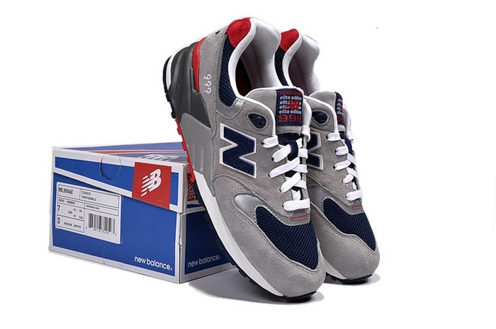 NEW BALANCE 999 灰紅藍 經典復古 休閒運動 慢跑鞋 ML999AE 情侶鞋