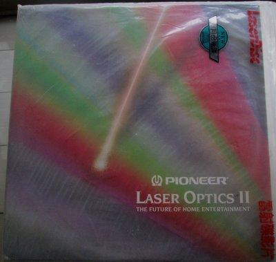 LD影碟~Pioneer Laser Optics II-Demonstration Disc經典影碟專輯
