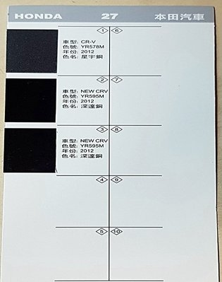 艾仕得(杜邦)Cromax原廠配方點漆筆.補漆筆 HONDA CRV 深邃銅 色號:YR595M