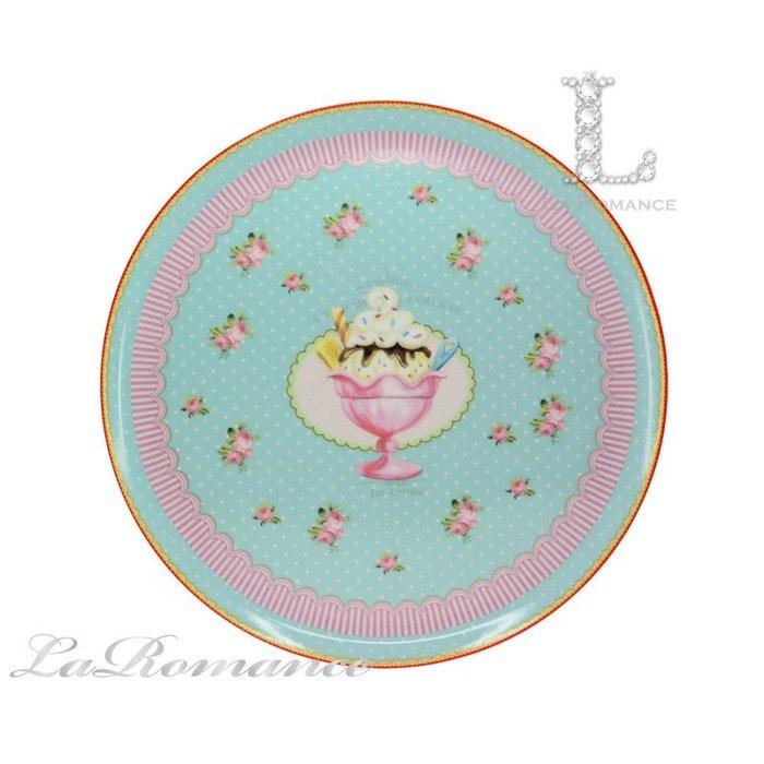 【芮洛蔓 La Romance】義大利 Lamart - 夢幻甜點系列12吋大圓盤 / 餐盤 / 點心盤 / 披薩盤