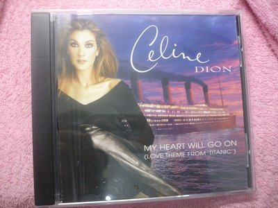 [原版光碟]H Celine Dion  My Heart Will Go On