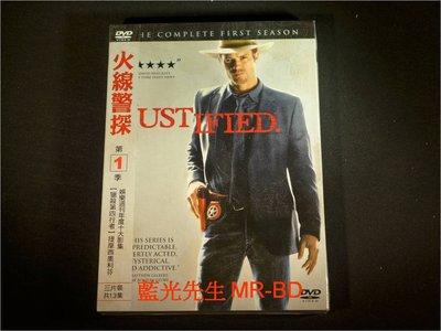 [DVD] - 火線警探 : 第一季 Justified 三碟裝 ( 得利公司貨 )
