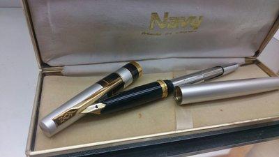 日本製海軍牌鋼筆(吸墨式)