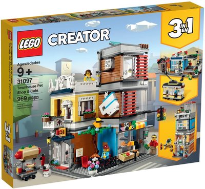 Lego Creator 31097 Townhouse Pet Shop & Café 全新 行貨