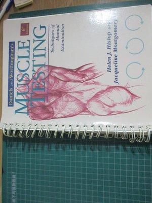 【鑽石城二手書】Muscle Tests: Techniques of Manual Examination 醫學