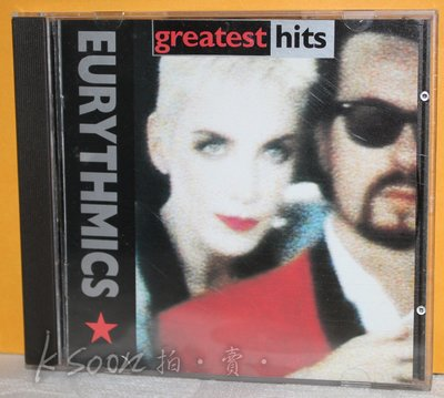 EURYTHMICS-GREATEST HITS,1991年,英國製造,無IFPI,BMG唱片