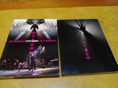 2 DVD《 Peter Gabriel - Still Growing Up Live & Unwrapped 》西洋