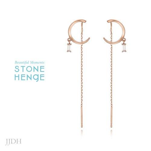 JJDH‧Jing Jing Design House‧ 朴敏英全智賢申敏兒劉寅娜 Stonehenge 耳環 178