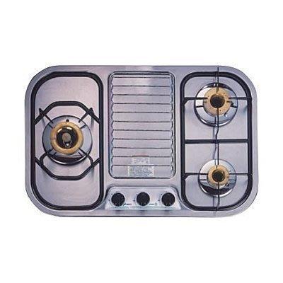 【路德廚衛】豪山牌P-3800瓦斯爐 爐架*2+開關旋鈕 三顆