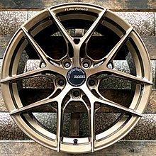 【田中輪胎館】耀麒 MAXX M22 特殊旋壓工法 18吋 5孔全車系適用 古銅 台灣製 (配胎套餐大折扣)