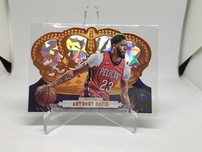 17-18 Crown Royale Crystals parallels Anthony Davis 限量99張