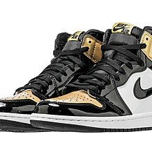 【C.M】AIR JORDAN 1 NRG  GOLD TOE 黑金 金頭 861428-007
