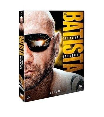 ☆阿Su倉庫☆WWE摔角 Batista The Animal Unleashed DVD 野獸大巴最新個人專輯 熱賣特價中 Evolution