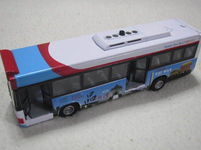 【KENTIM 玩具城】全新EAPAO客運巴士系列(台灣觀光巴士款)擬真烤漆合金收藏精緻迴力車(易保公司貨)