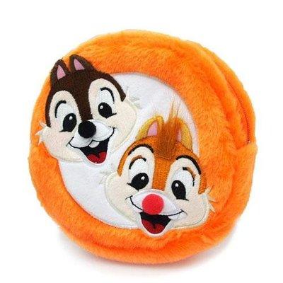 迪士尼 奇奇和蒂蒂立體臉譜設計 圓型化妝包 內裡的布超可愛喔!  可愛的商品內放小物 也可帶來好心情~