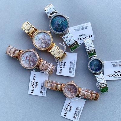 ㊣國際品牌COACH庫㊣ COACH 14503221 14503222 14503223【2件免運】新款貝殼女錶 手錶