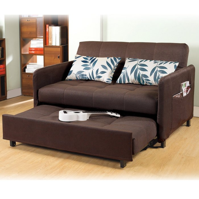 【UHO】 鐵木真沙發床(附抱枕) 免運費 HO18-365-1