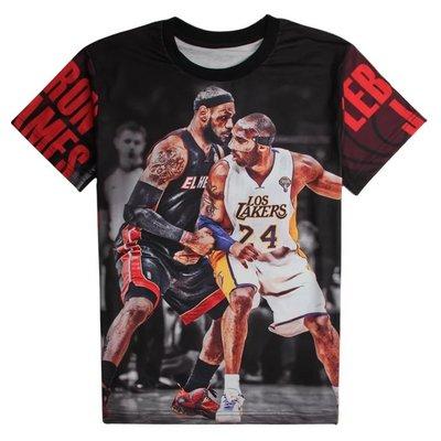 🏀詹皇LeBron James詹姆士短袖棉T恤上衣🏀NBA湖人隊Adidas愛迪達運動籃球衣服T-shirt男318