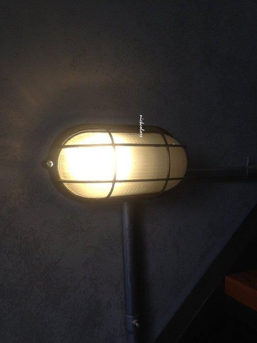 尼克卡樂斯~工業風船艙防爆壁燈大款  臥室壁燈玄關燈 loft 設計款壁燈 餐廳燈 復古燈 樓梯燈 服飾店咖啡廳造型燈飾