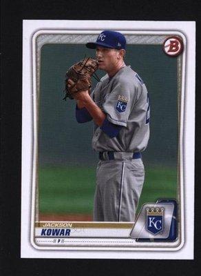 2020 Bowman Draft #BD-2 Jackson Kowar - Kansas City Royals