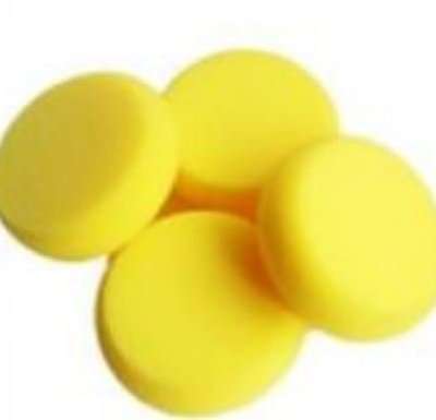 黃色海棉/蝶古巴特 Decoupage 拼貼 帆布袋 木器 彩繪 胚布 DIY 黏土 手作