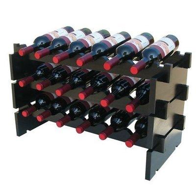 36286147822 實木酒架子 葡萄新款酒架 擺件歐式酒瓶新木架木制紅酒架創意木質酒櫃