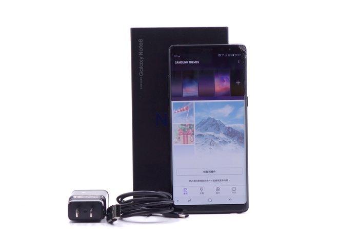 【台中青蘋果競標】Samsung Galaxy Note 8 N950F 晶墨黑 64G 螢幕破裂 #23783