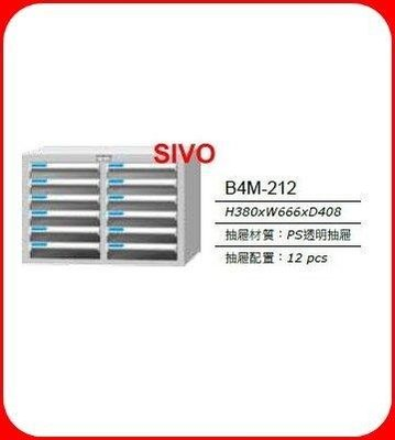 ☆SIVO電子商城☆台灣 TANKO 桌上型文件箱 B4M-212/B4M212鐵櫃 /效率櫃 /資料櫃 /文件櫃