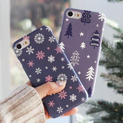 韓國 聖誕主題 硬殼 手機殼│S7 Edge S8 S9 S10 S10e│z8135