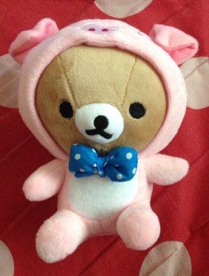 全新拉拉熊懶懶熊變裝粉紅豬