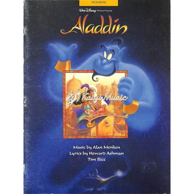 Kaiyi Music ♫Kaiyi Music♫Aladdin (Sheet Music for the Trombones)