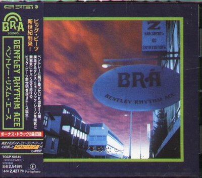 K - Bentley Rhythm Ace - Bentley Rhythm Ace - 日版 CD+2 - NEW