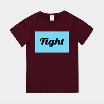 T365 MIT 親子裝 T恤 童裝 情侶裝 T-shirt 標語 話題 口號 標誌 美式風格 slogan Fight