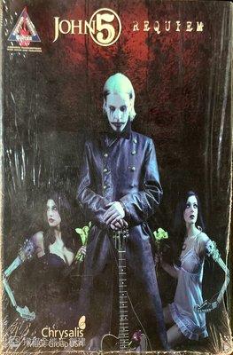 【搖滾帝國】美國知名(Heavy Metal)重金屬樂手John 5  Requiem 樂譜 2008年發行 全新稀有品
