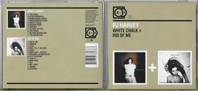 【二手CD】P J HARVEY:WHITE CHALK + RID OF ME《2CD》