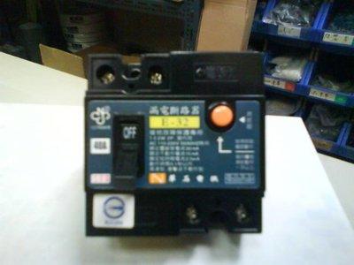 DIY水電材料 2P40A 漏電開關/漏電斷路器/安全開關