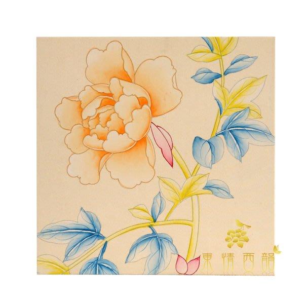 【芮洛蔓 La Romance】東情西韻系列手繪迷你絹絲畫飾 S / 掛飾 / 壁畫 / 掛畫