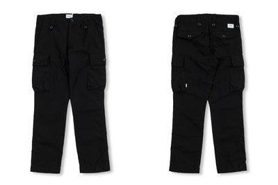 日本代購 WTAPS_38 SS19 JUNGLE ENGLAND 01 / TROUSERS. COTTON. SATIN 四色(Mona)