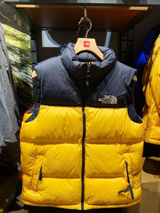 The North Face北面男女款藍色1996Nuptse羽絨外套|496SCZ6